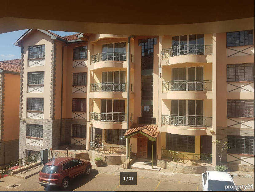 Elegant 2 Bedroom Furnished and Serviced Apartment, Upperhill - giroy property management1