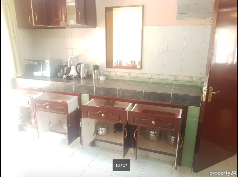 Elegant 2 Bedroom Furnished and Serviced Apartment, Upperhill - giroy property management10