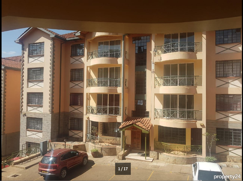 Elegant 2 Bedroom Furnished and Serviced Apartment, Upperhill - giroy property management18