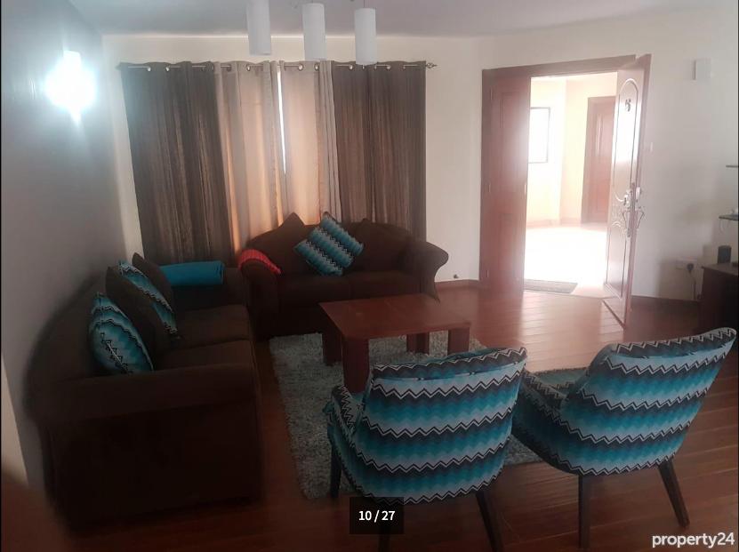 giroy property management - Fully Furnished 3 Bedroom Apartment, Kileleshwa 10