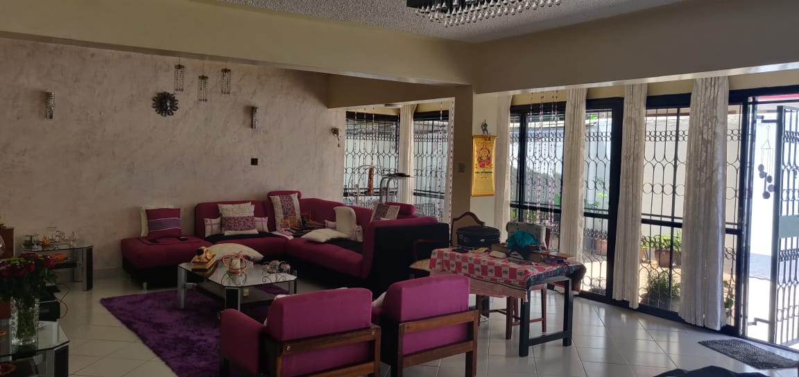 4 Bedroom with DSQ - One master bedroom ensuite and 2 common bathrooms - For Sale at Ksh40M along General Mathenge Drive1