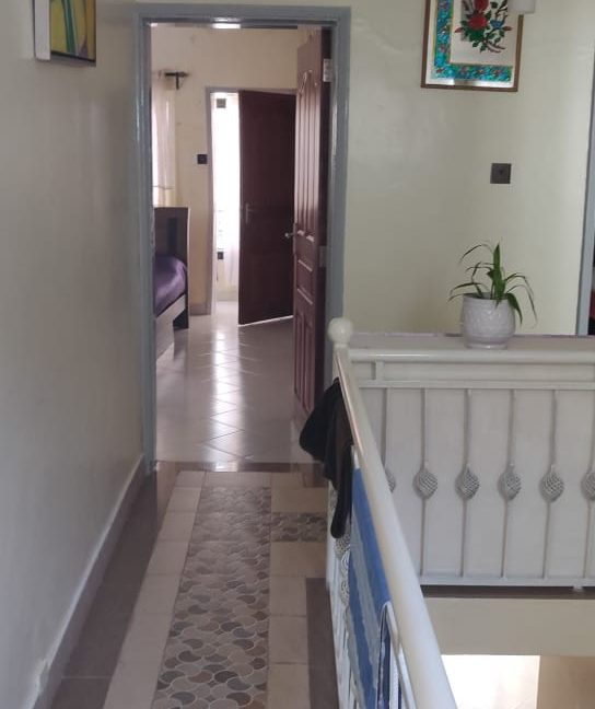 4 Bedroom with DSQ - One master bedroom ensuite and 2 common bathrooms - For Sale at Ksh40M along General Mathenge Drive10