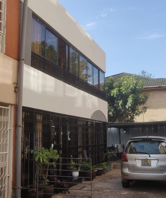 4 Bedroom with DSQ - One master bedroom ensuite and 2 common bathrooms - For Sale at Ksh40M along General Mathenge Drive2
