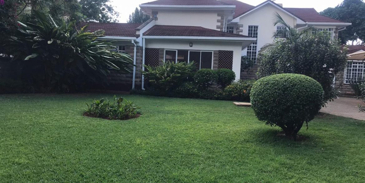 Beautiful 5 Bedroom All Ensuite House For Rent Built on Half an Acre with a Swimming Pool along Lower Kabete Road at Ksh350k6