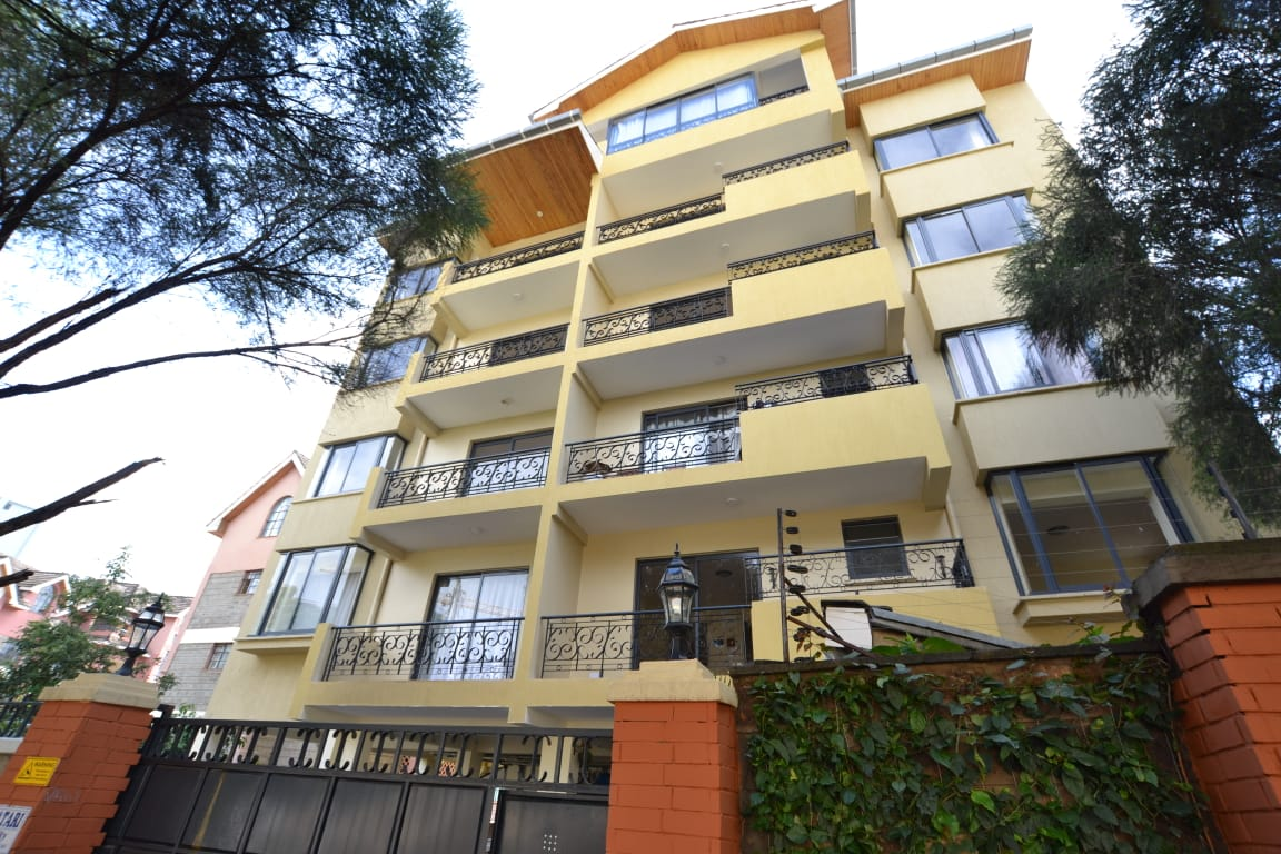 Kileleshwa 1 and 2 Bedroom Furnished Apartments for Rent at Ksh80k and Ksh100k respectively