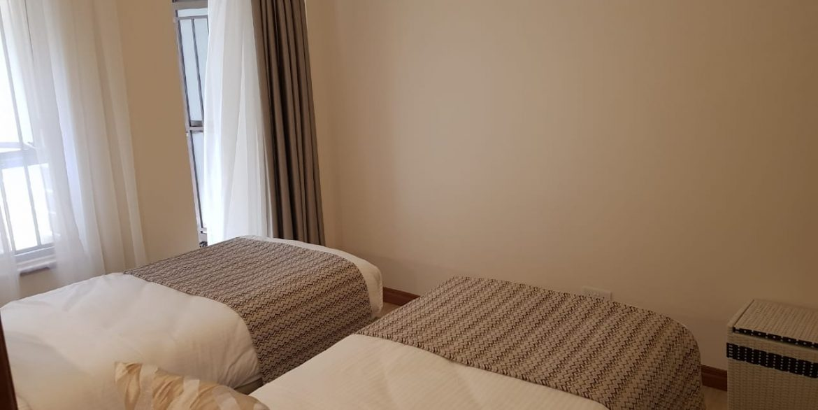 New Property: 2 Bedroom Fully Furnished and Serviced Apartment on Riverside at 160k13