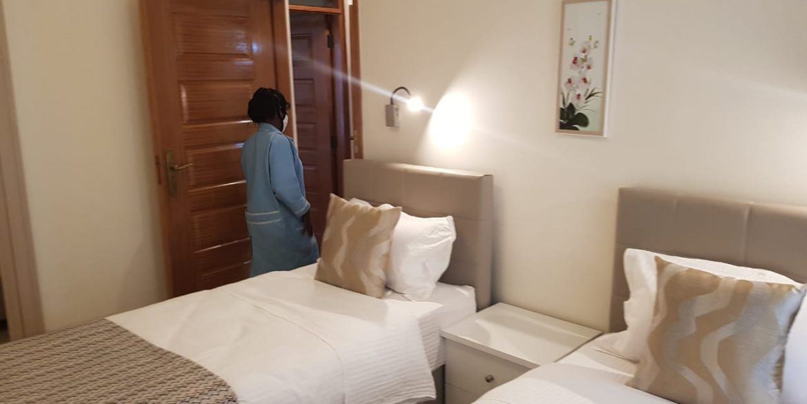 New Property: 2 Bedroom Fully Furnished and Serviced Apartment on Riverside at 160k19