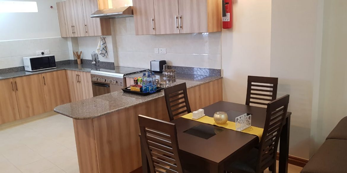 New Property: 2 Bedroom Fully Furnished and Serviced Apartment on Riverside at 160k2