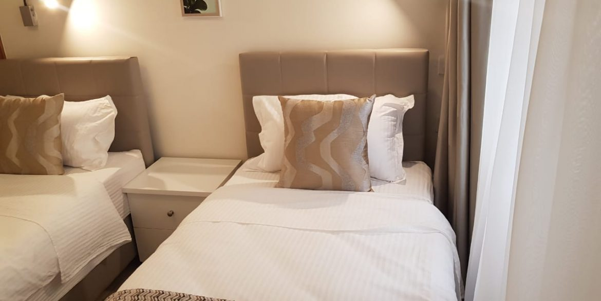 New Property: 2 Bedroom Fully Furnished and Serviced Apartment on Riverside at 160k20