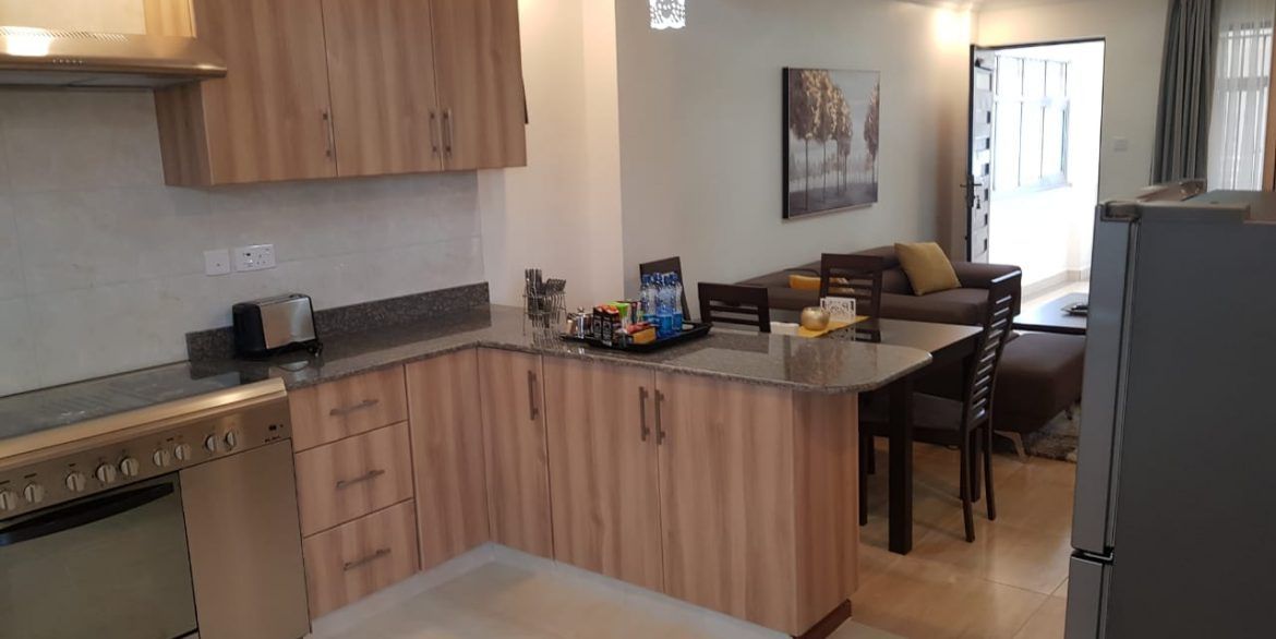 New Property: 2 Bedroom Fully Furnished and Serviced Apartment on Riverside at 160k28