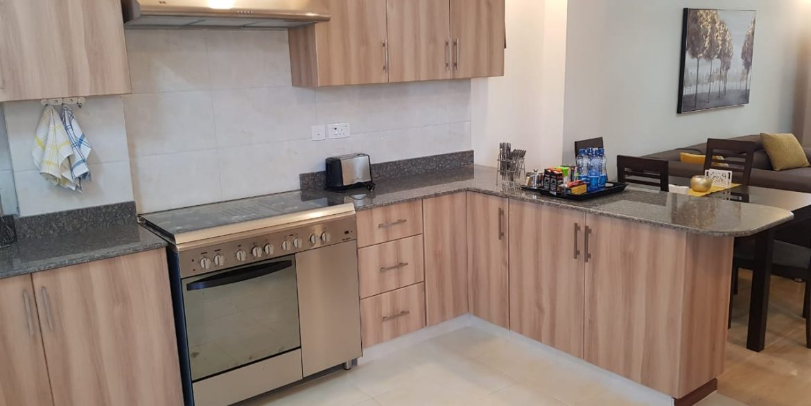 New Property: 2 Bedroom Fully Furnished and Serviced Apartment on Riverside at 160k30