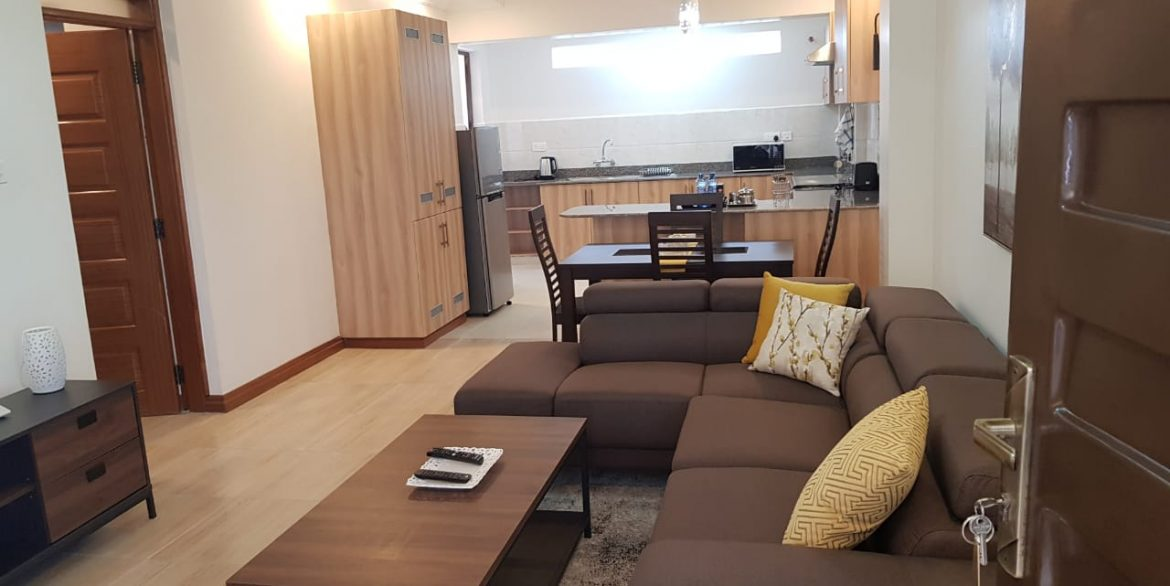 New Property: 2 Bedroom Fully Furnished and Serviced Apartment on Riverside at 160k32
