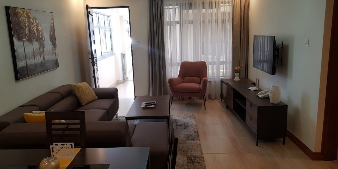 New Property: 2 Bedroom Fully Furnished and Serviced Apartment on Riverside at 160k33