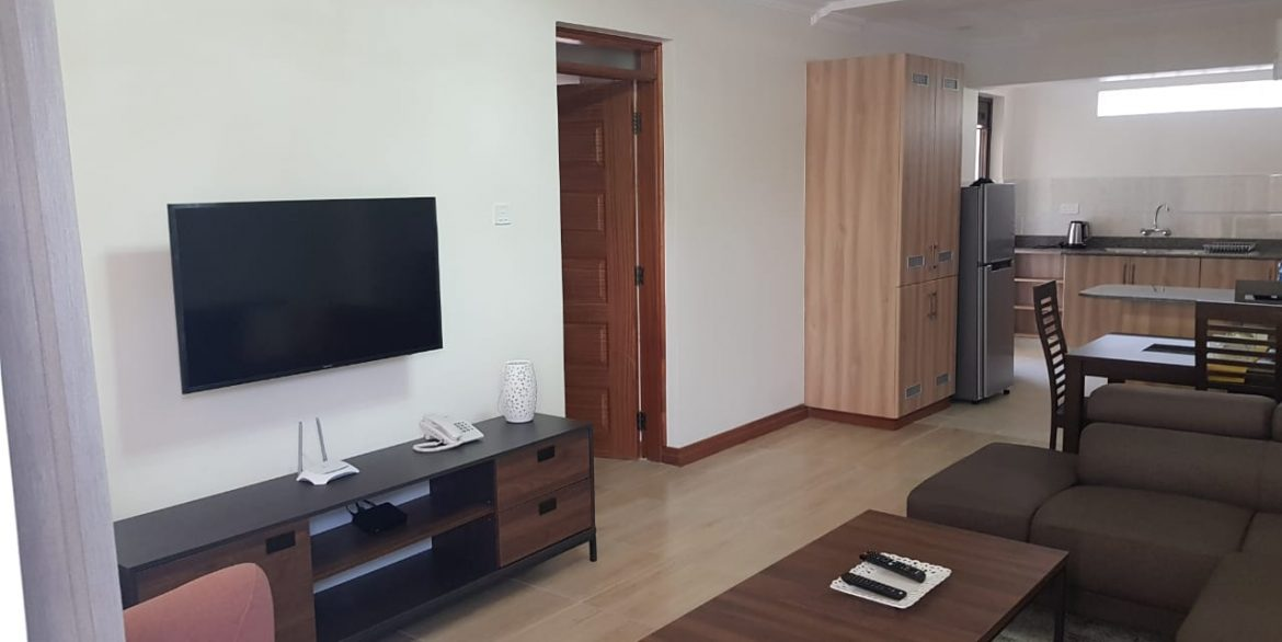 New Property: 2 Bedroom Fully Furnished and Serviced Apartment on Riverside at 160k35