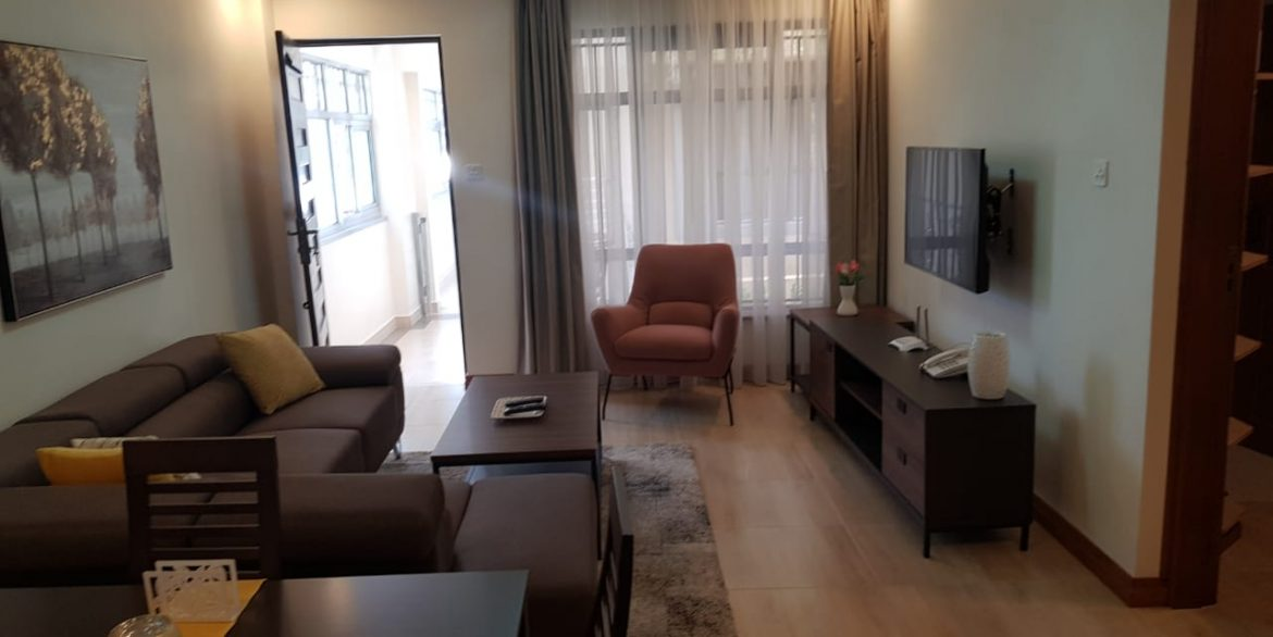 New Property: 2 Bedroom Fully Furnished and Serviced Apartment on Riverside at 160k36