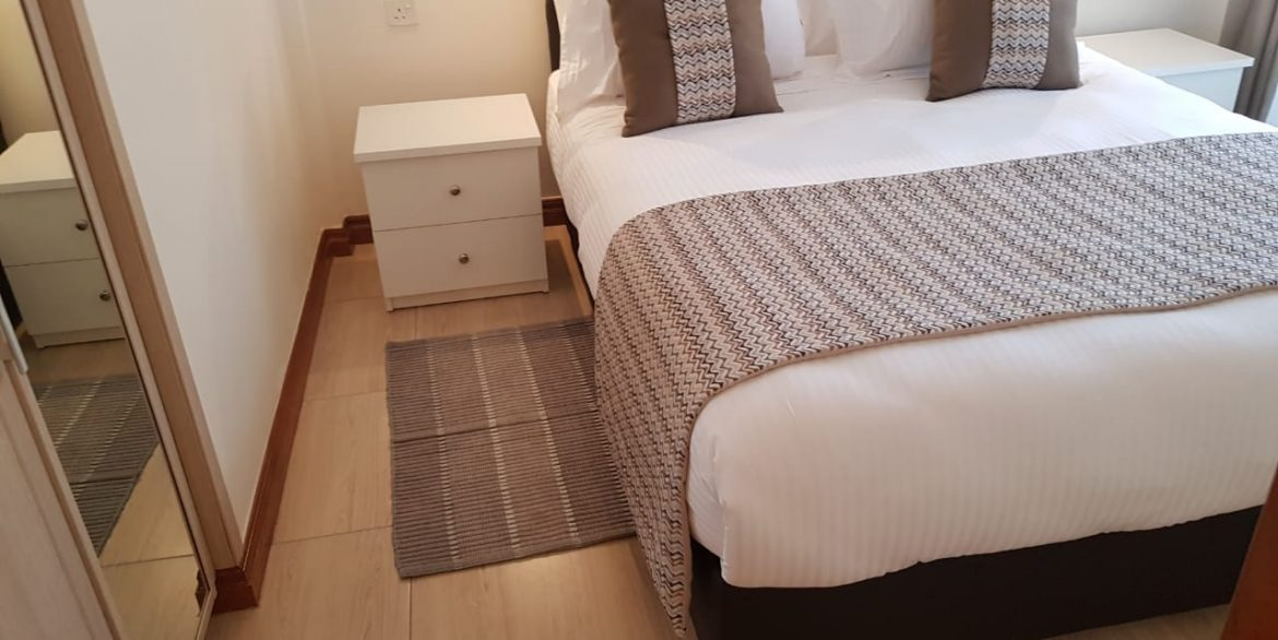 New Property: 2 Bedroom Fully Furnished and Serviced Apartment on Riverside at 160k4