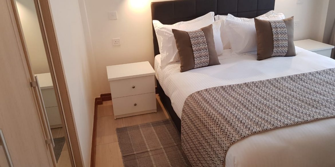 New Property: 2 Bedroom Fully Furnished and Serviced Apartment on Riverside at 160k7