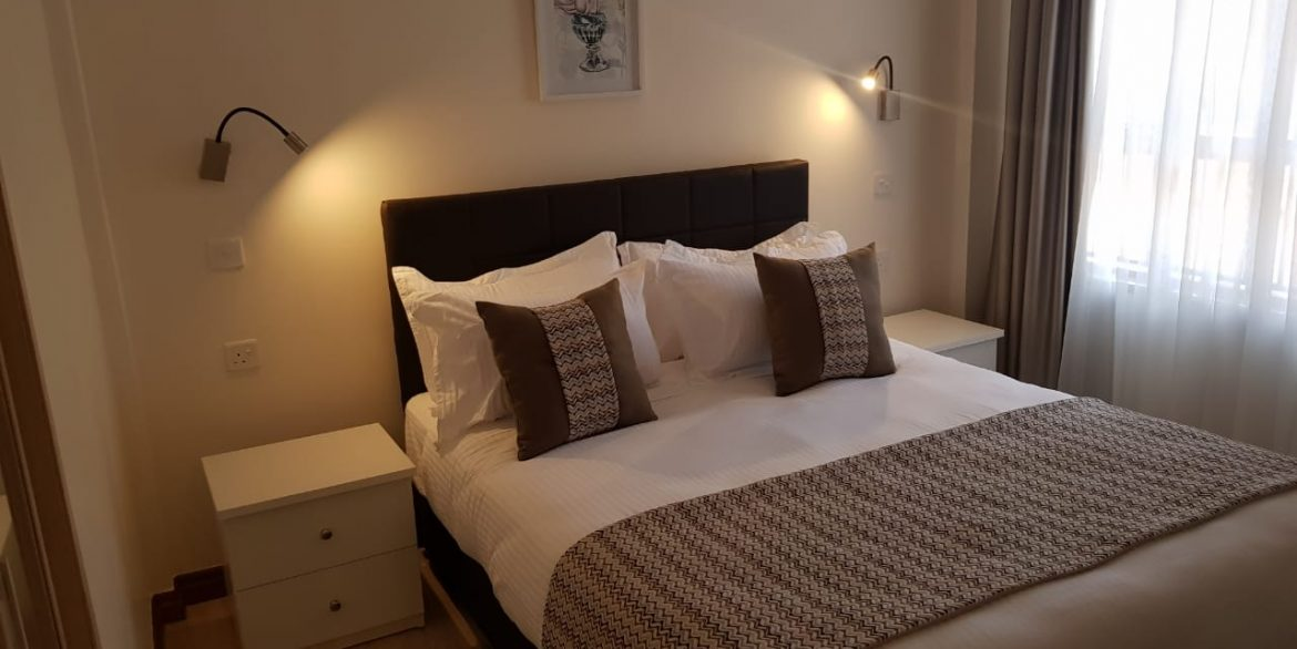 New Property: 2 Bedroom Fully Furnished and Serviced Apartment on Riverside at 160k9