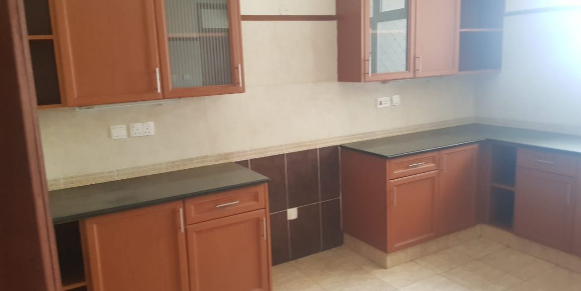 Two Bedrooms Plus Dsq with borehole water and lift in Killimani at Ksh85k12