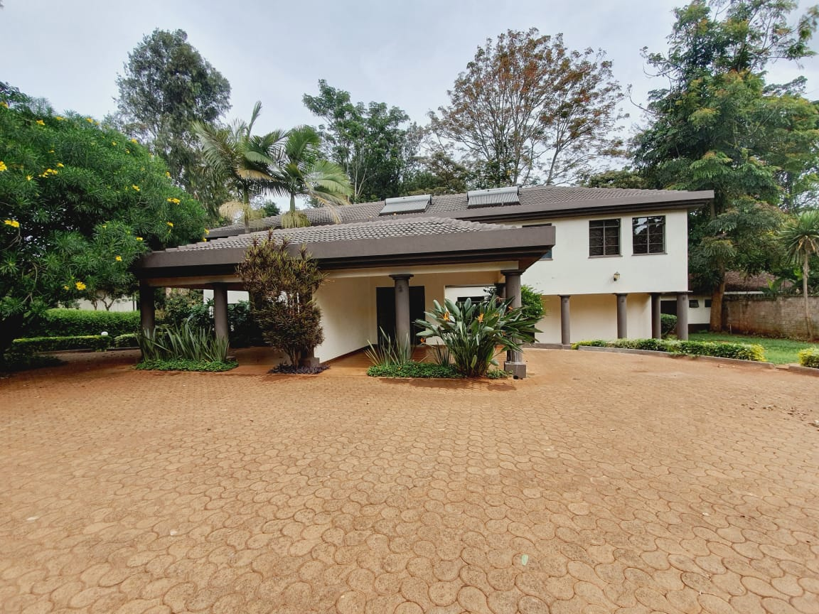 4 Bedrooms All En-suite House for Rent in a compound of 2 units Located Off Peponi Road