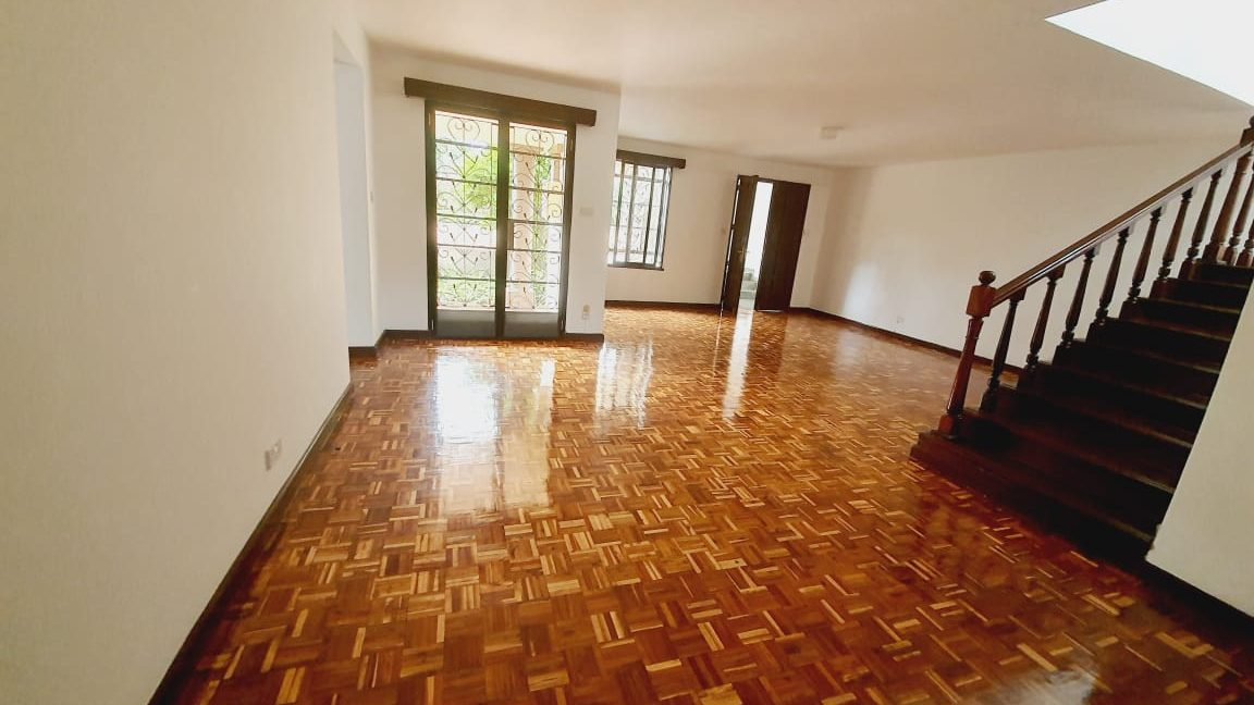 4 Bedrooms All En-suite House for Rent in a compound of 2 units Located Off Peponi Road 12