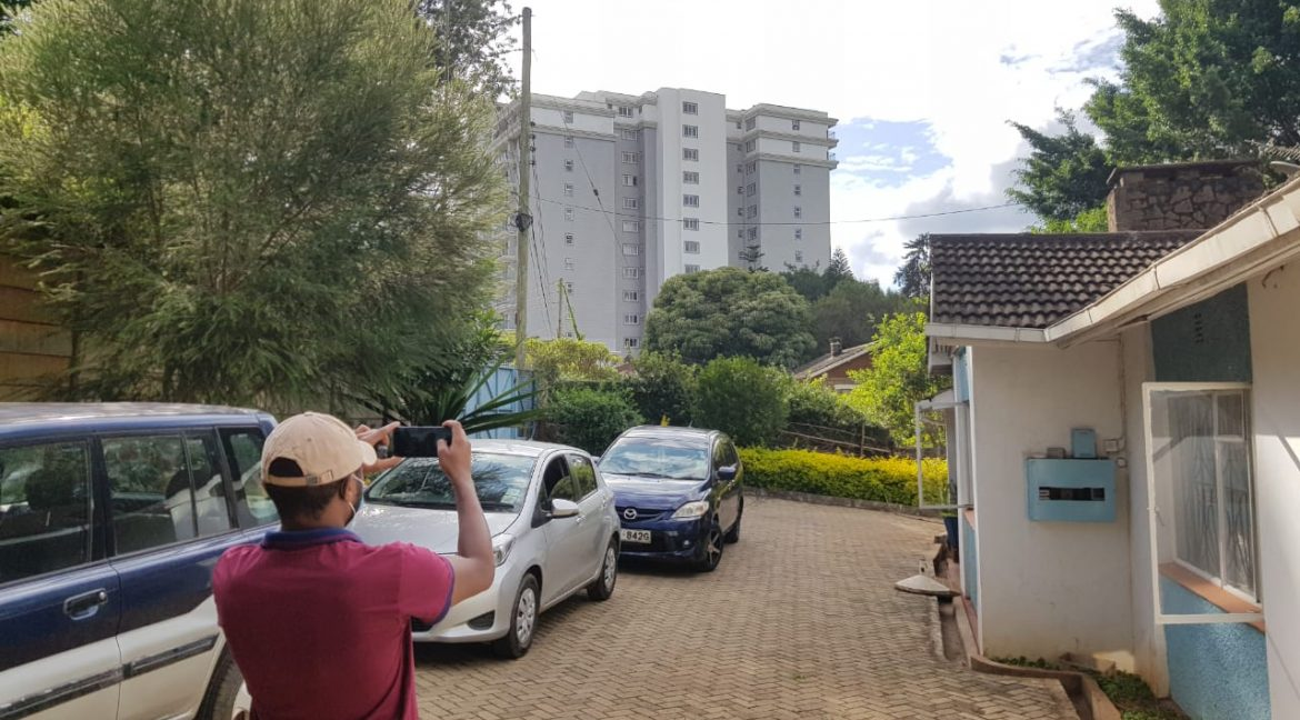 Property for Sale in Kileleshwa, Gatundu Cresent Road, with 0.645 acres, leasehold, asking Ksh155M8
