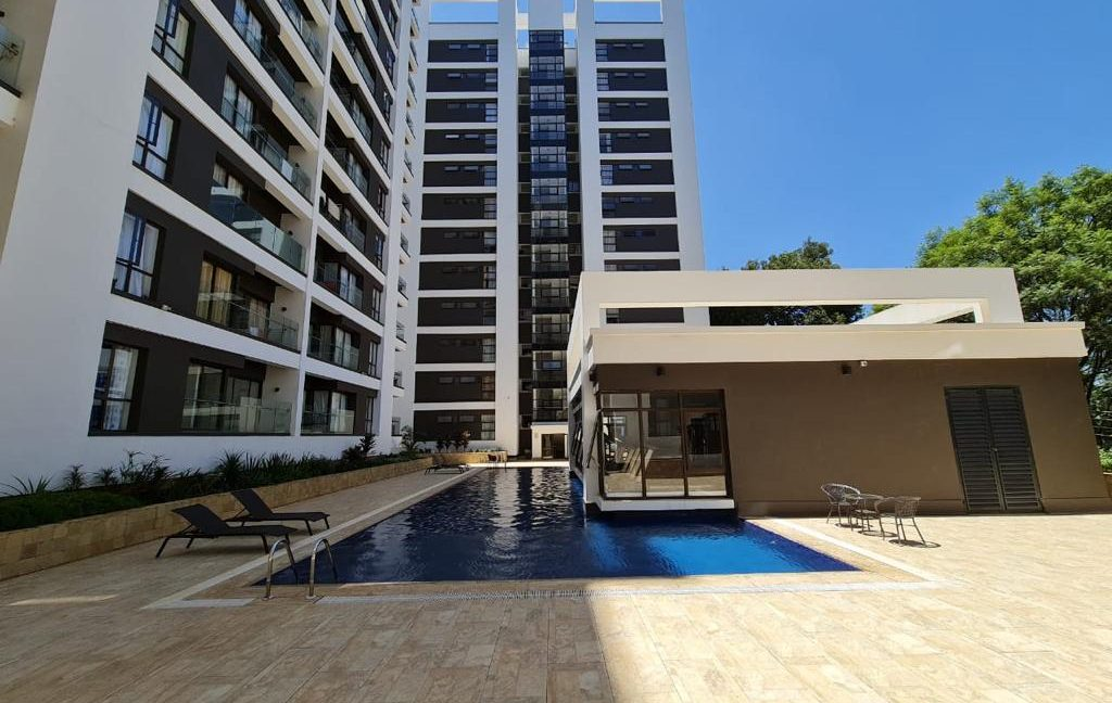 2 Furnished Bedroom Apartment for Rent, Ensuite, Modern, with Swimming Pool, Gym, Lift, Backup Power... at Ksh120k1