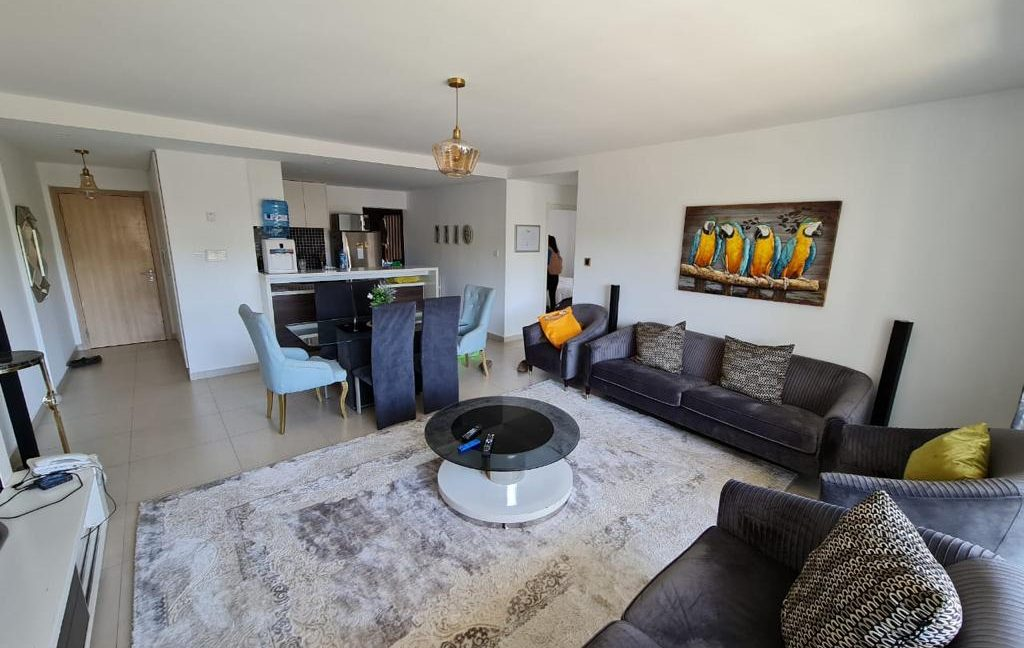 2 Furnished Bedroom Apartment for Rent, Ensuite, Modern, with Swimming Pool, Gym, Lift, Backup Power... at Ksh120k12
