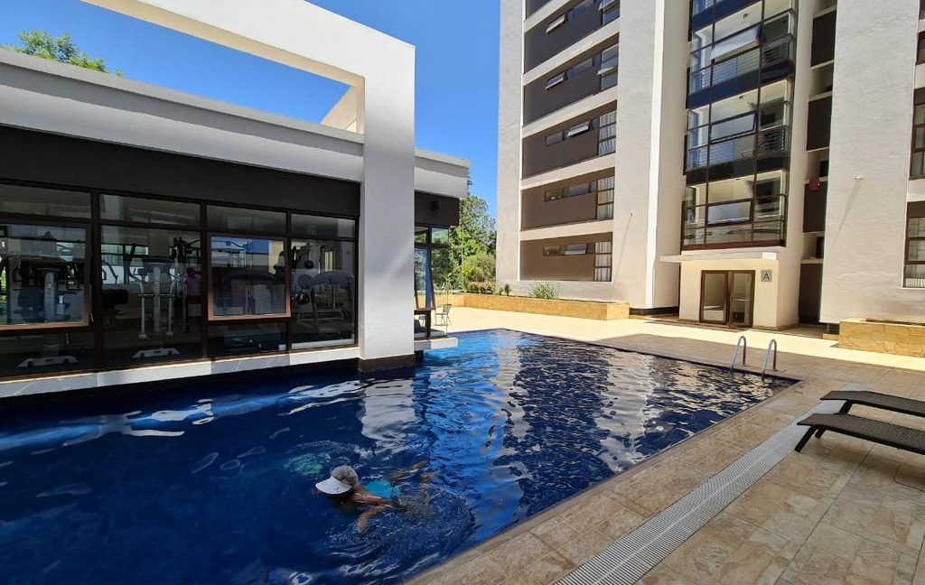 2 Furnished Bedroom Apartment for Rent, Ensuite, Modern, with Swimming Pool, Gym, Lift, Backup Power... at Ksh120k16