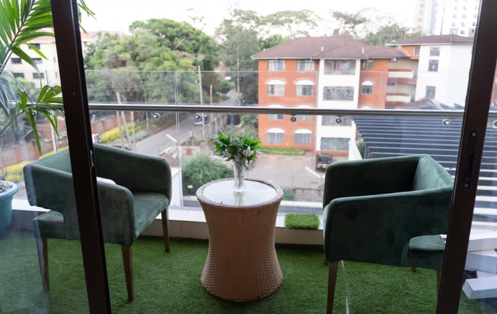 2 Furnished Bedroom Apartment for Rent, Ensuite, Modern, with Swimming Pool, Gym, Lift, Backup Power... at Ksh120k5