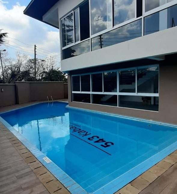 4 Bedroom Town House To Let Lavington, Nairobi at Ksh350,000 per month including service charge15