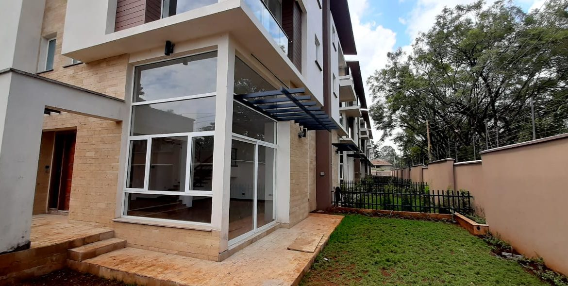 4 Bedroom Town House To Let Lavington, Nairobi at Ksh350,000 per month including service charge3