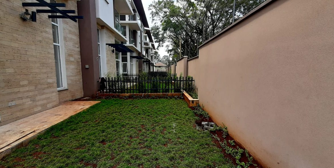 4 Bedroom Town House To Let Lavington, Nairobi at Ksh350,000 per month including service charge6