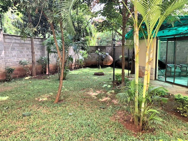 3 Bedroom Townhouse in Gated Community for Rent at Ksh300k on Peponi Rd with Large living, Dinning, Open large Kitchen. Spacious Bedrooms and Private garden12