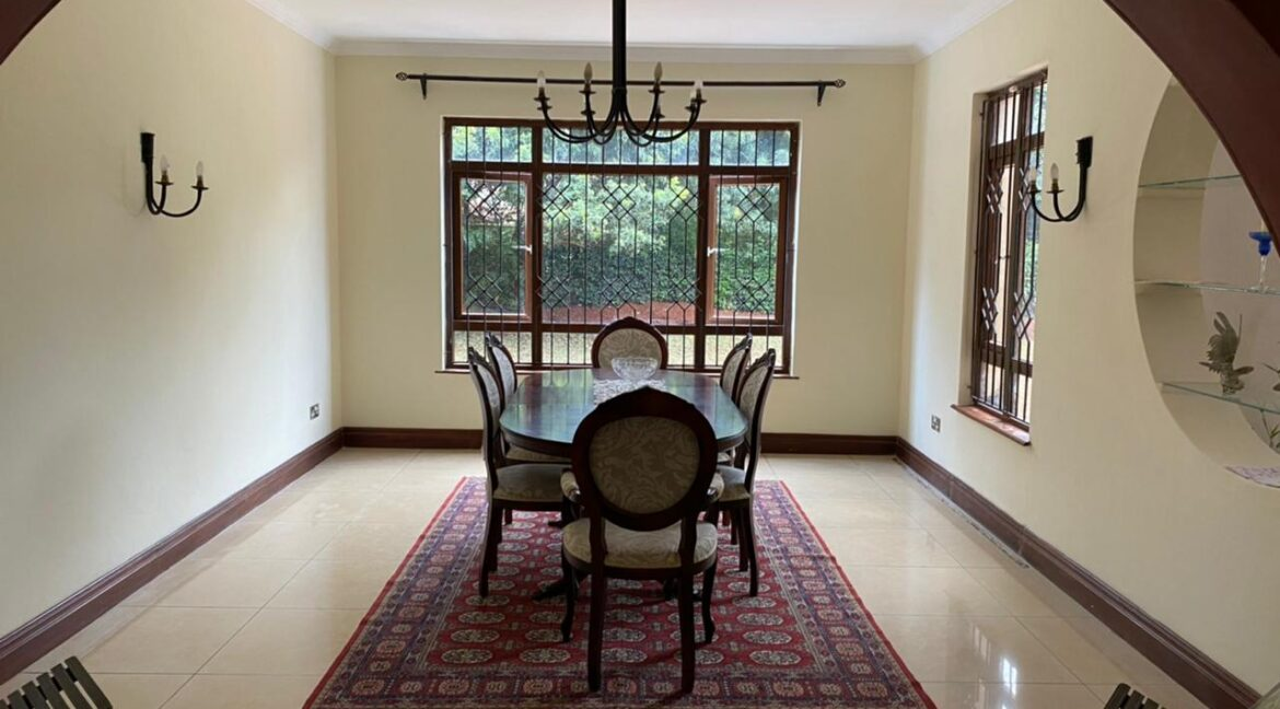 5 Bedrooms Villa all bedrooms en-suite for rent at Ksh400k located in Kitisuru in a gated community but own compound sitting on half acre15