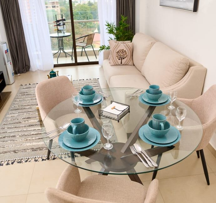 Beautifully Furnished 1 Bedroom Apartment for Rent in Lavington at Ksh120k3