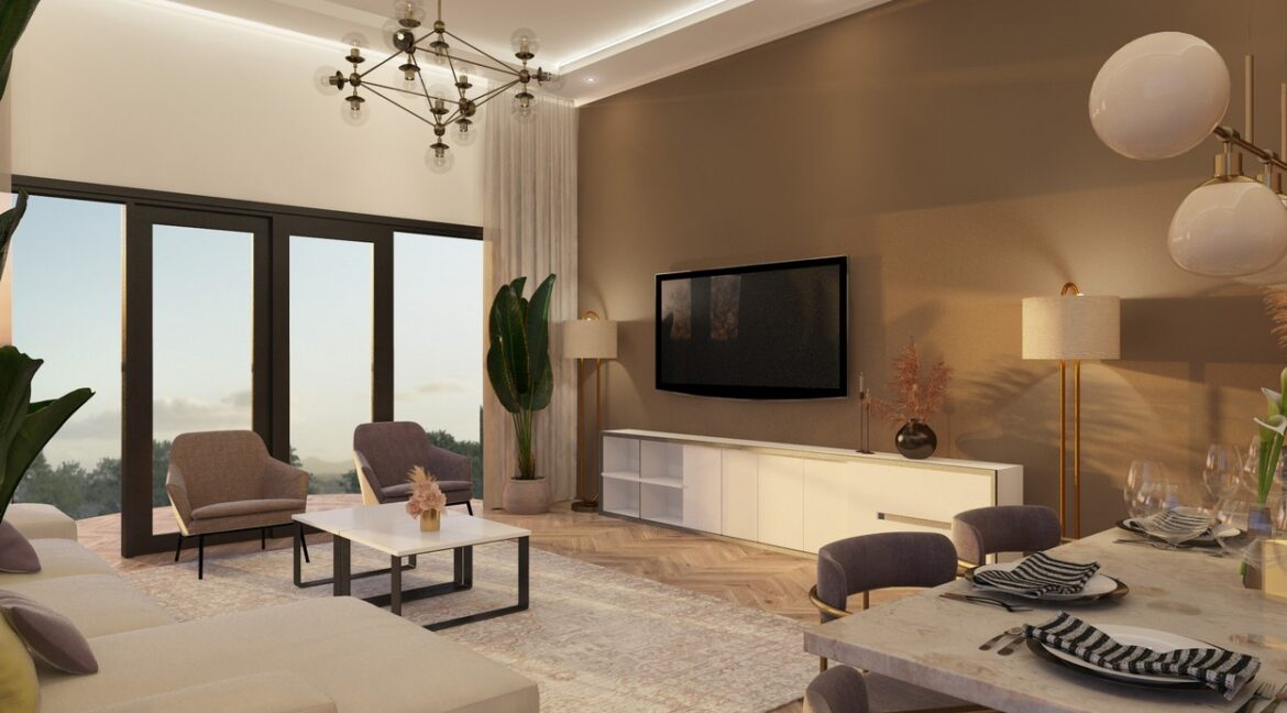 Contemporary Block of Apartments - 8 years Payment Plan with Conventional 3 bedrooms and duplexes plus DSQ6