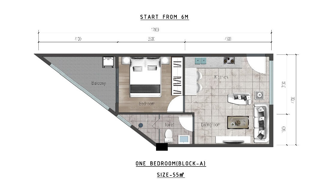 Ideal Apartment in New Project Located in Valley Arcade, Argwings Kodhek Road, 2br 1br and studios with competitive space and Scientific planning design3