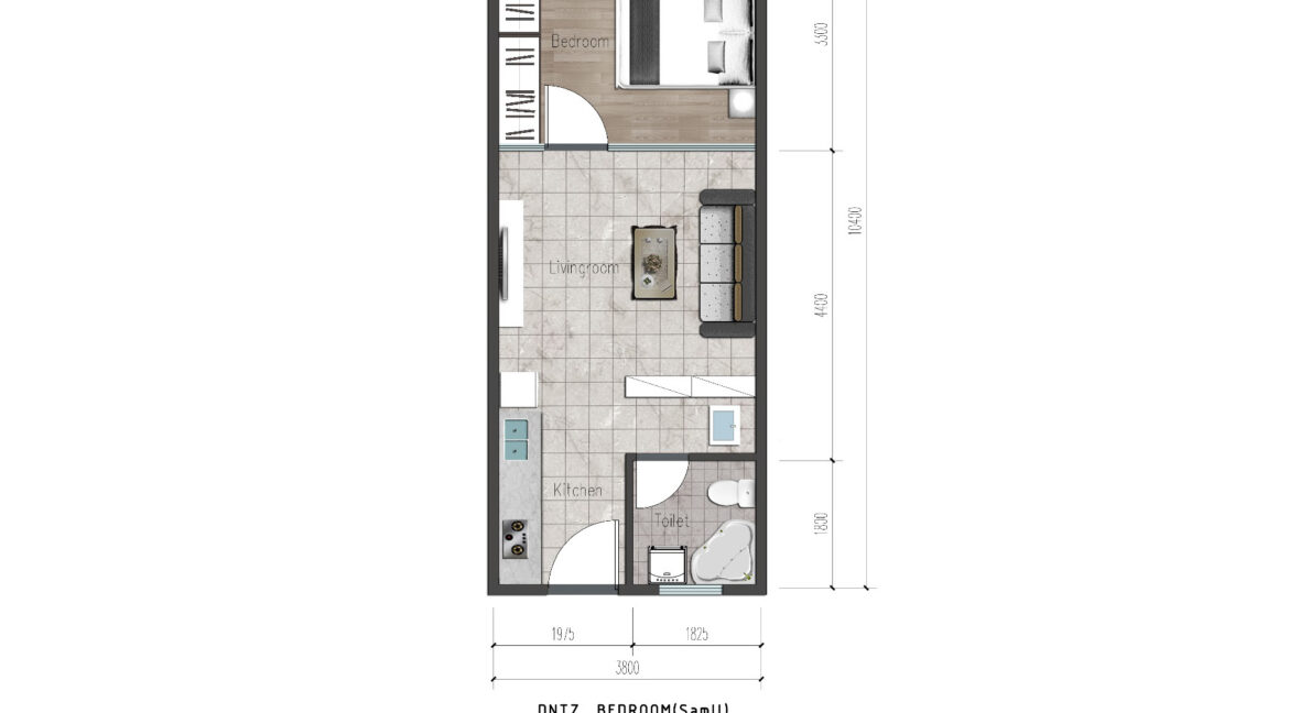 Ideal Apartment in New Project Located in Valley Arcade, Argwings Kodhek Road, 2br 1br and studios with competitive space and Scientific planning design5