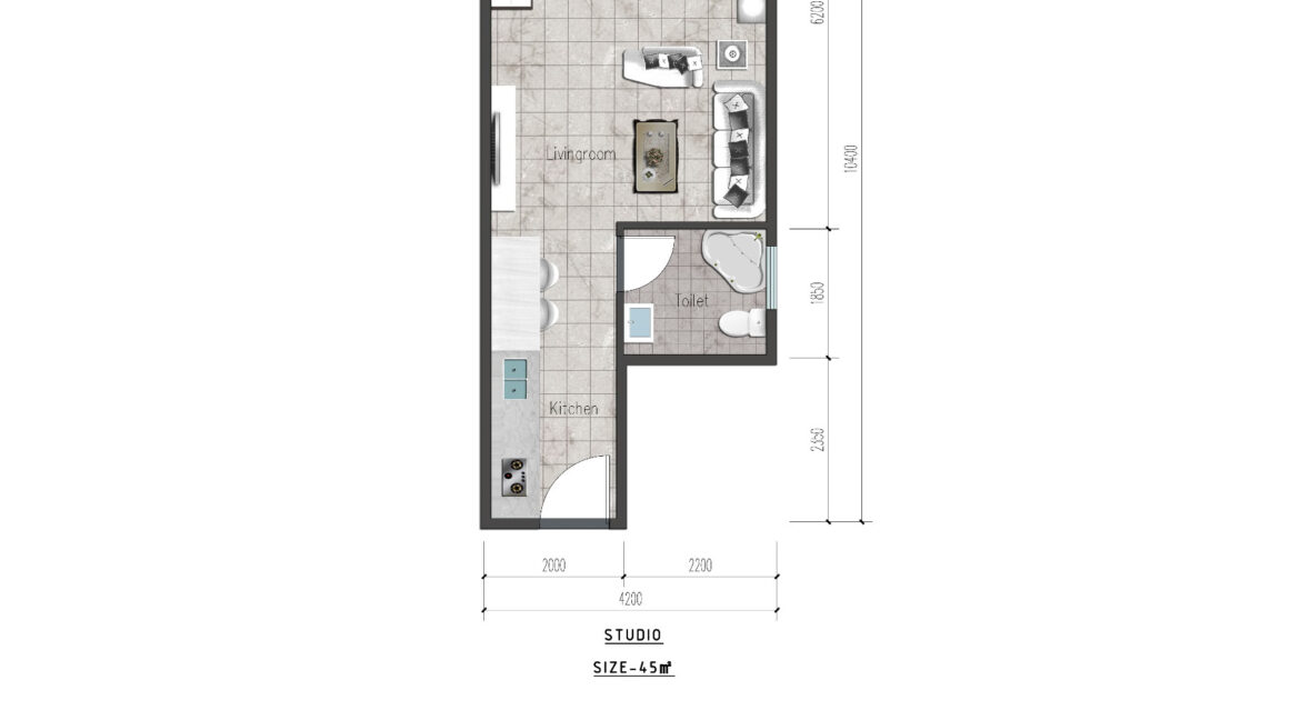 Ideal Apartment in New Project Located in Valley Arcade, Argwings Kodhek Road, 2br 1br and studios with competitive space and Scientific planning design6