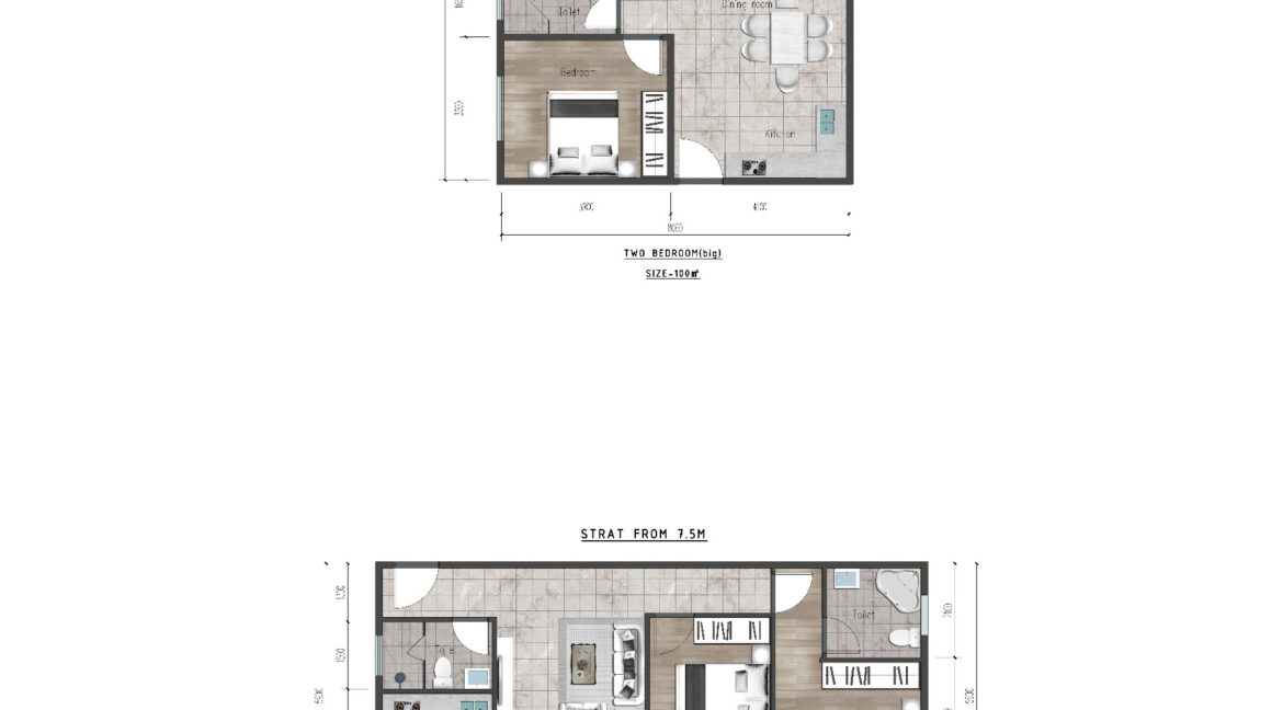 Ideal Apartment in New Project Located in Valley Arcade, Argwings Kodhek Road, 2br 1br and studios with competitive space and Scientific planning design7