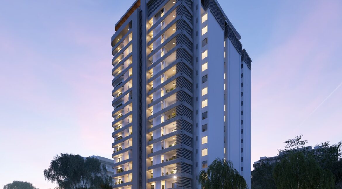 New Development of 60 units in 19 floors of 3 and 4 Bedroom Apartments in Westlands on General Mathenge 1