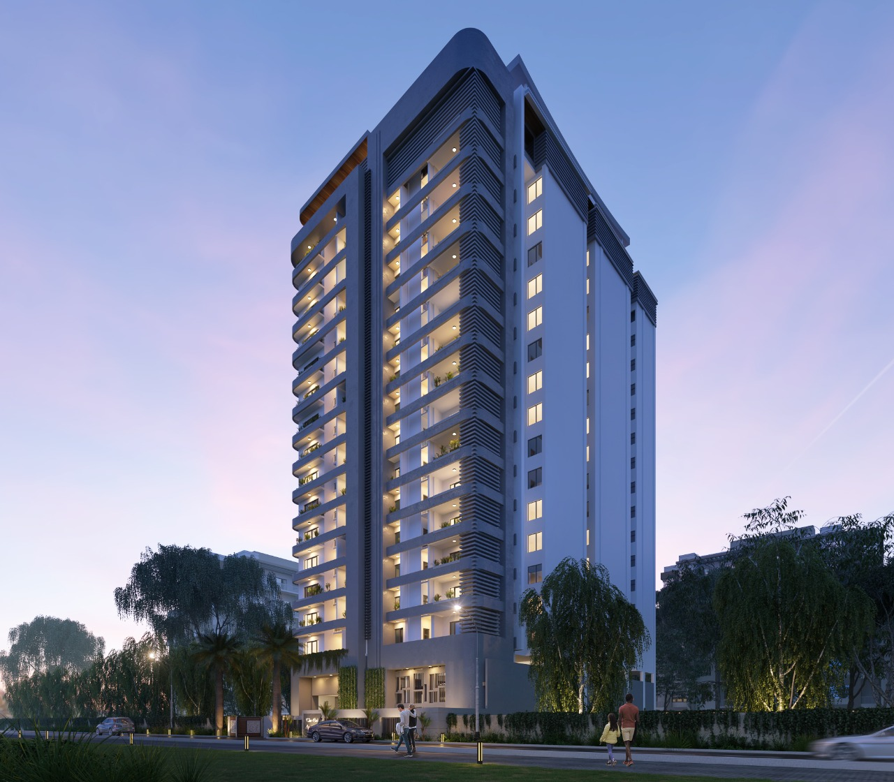 New Development of 60 units in 19 floors of 3 and 4 Bedroom Apartments in Westlands on General Mathenge