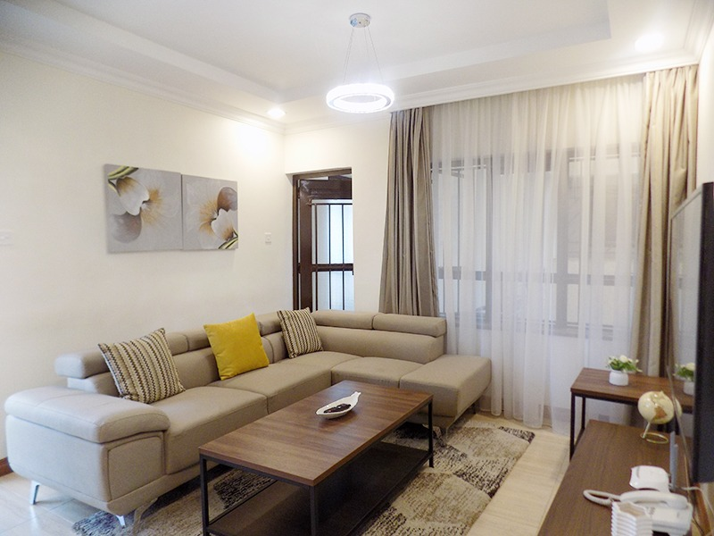 One (1) Bedroom Fully Furnished and Serviced Apartments for Rent at Ksh115 k on Riverside Drive10