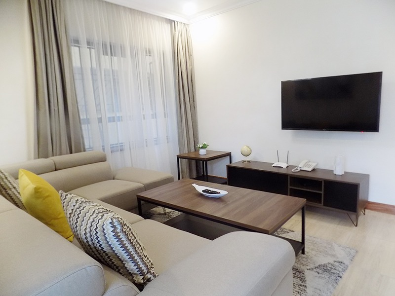 One (1) Bedroom Fully Furnished and Serviced Apartments for Rent at Ksh115 k on Riverside Drive14