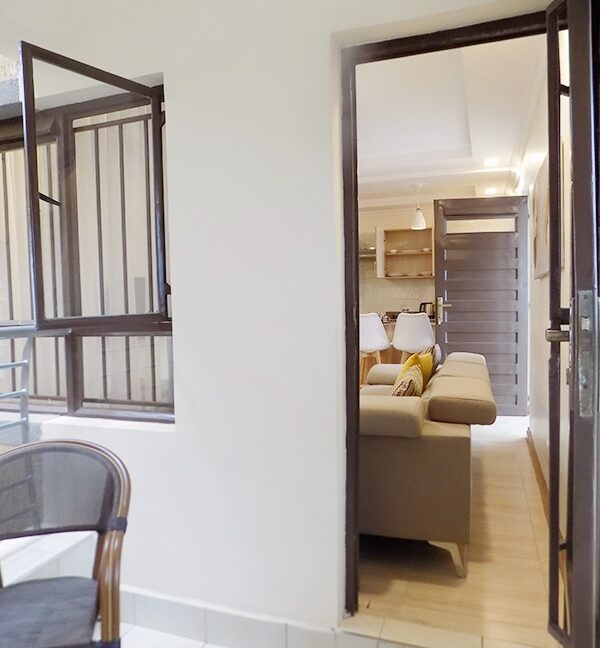 One (1) Bedroom Fully Furnished and Serviced Apartments for Rent at Ksh115 k on Riverside Drive18