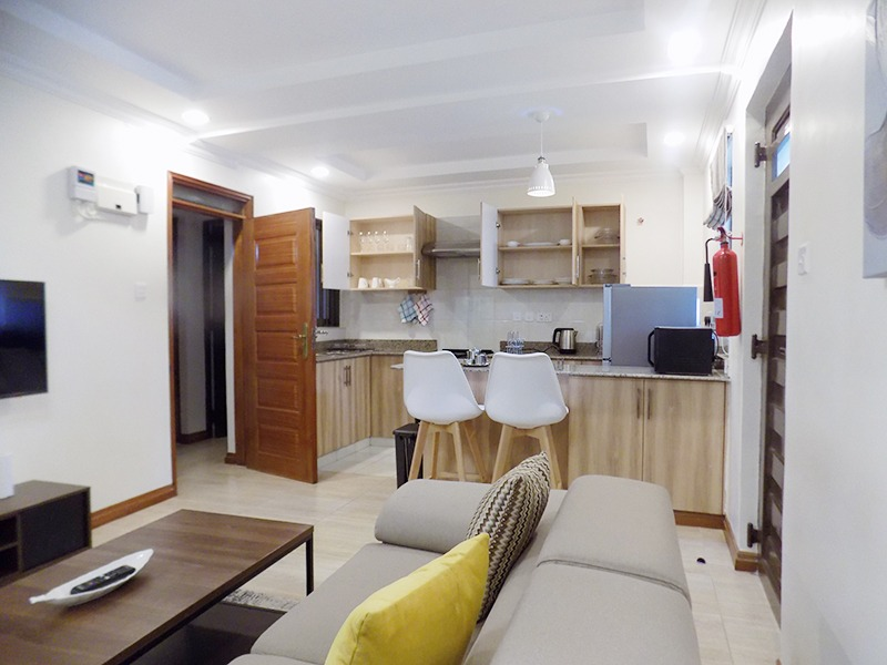 One (1) Bedroom Fully Furnished and Serviced Apartments for Rent at Ksh115 k on Riverside Drive2