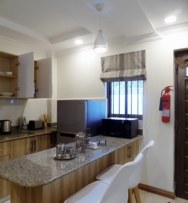 One (1) Bedroom Fully Furnished and Serviced Apartments for Rent at Ksh115 k on Riverside Drive3