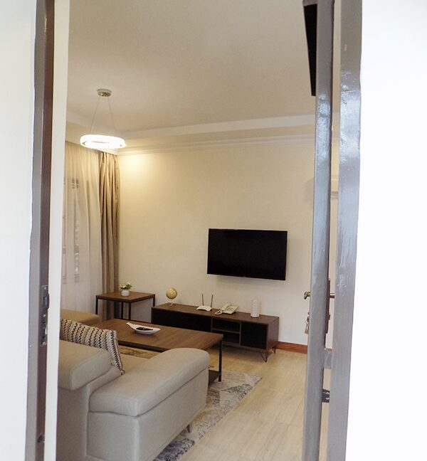 One (1) Bedroom Fully Furnished and Serviced Apartments for Rent at Ksh115 k on Riverside Drive8