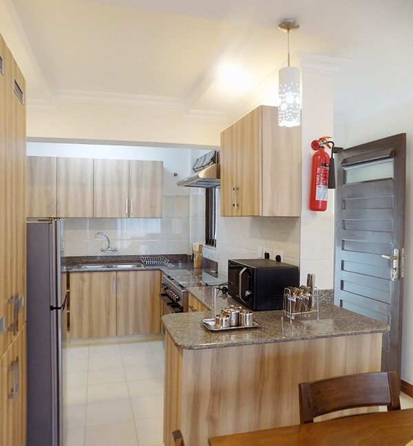 Two (2) Bedrooms Fully Furnished and Serviced Apartments for Rent at Ksh130k on Riverside Drive with outside balcony10